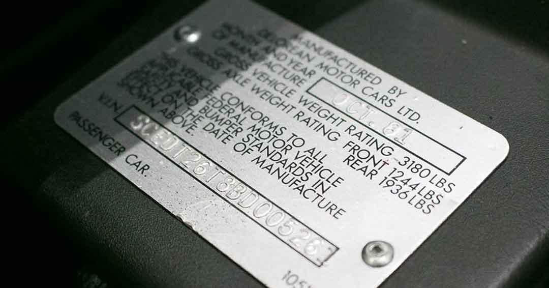 SCEDT26T8BD005261 | DeLoreanDirectory.com