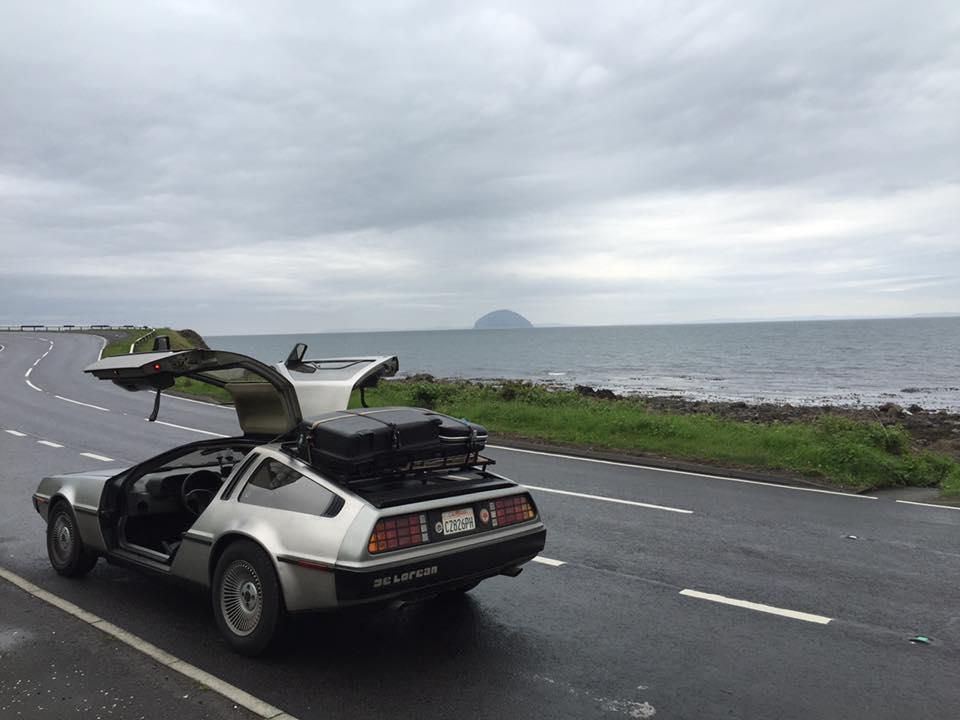 Camping with a DeLorean - DeLoreanDirectory.com Joffrey Dragotta's DeLorean camping trips | DeLoreanDirectory.com