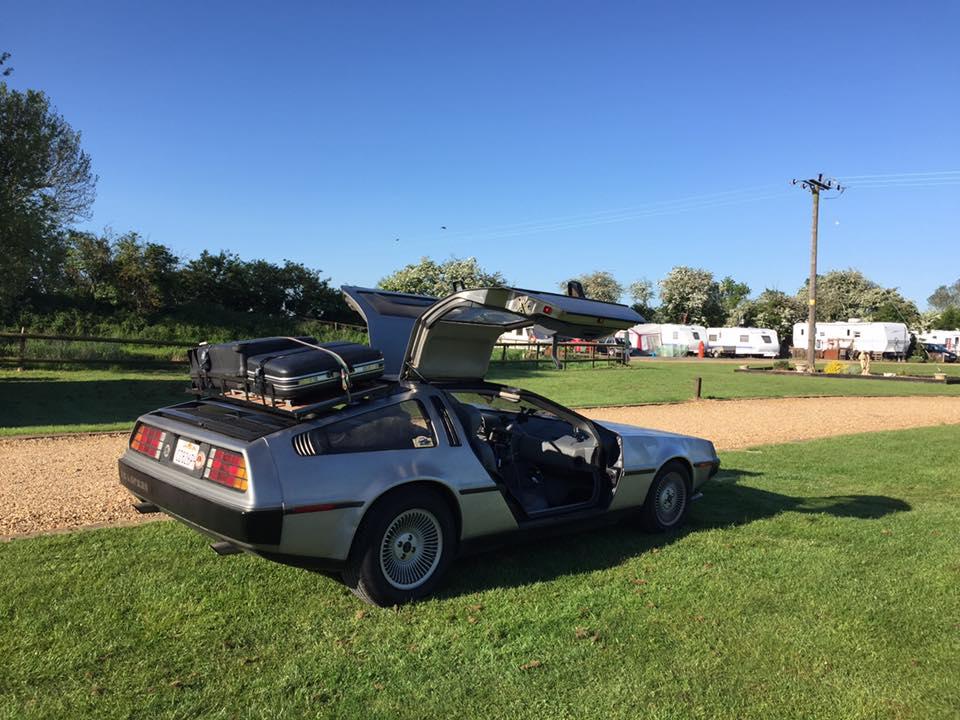 DeLorean camp sites | DeLoreanDirectory.com