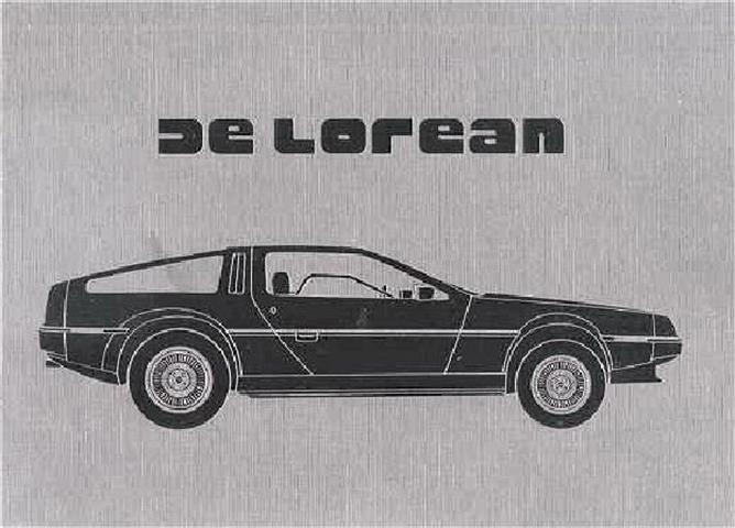 1981 DeLorean Prestige Original Sales Catalog