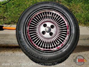 Sonax Wheel Cleaner Plus is Magic On DeLorean Rims | DeLoreanDirectory.com
