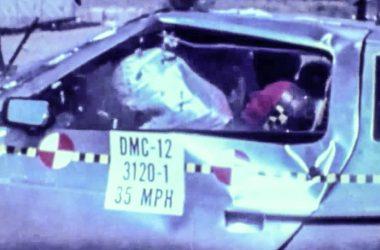 DeLorean Airbag Testing | DeLoreanDirectory.com