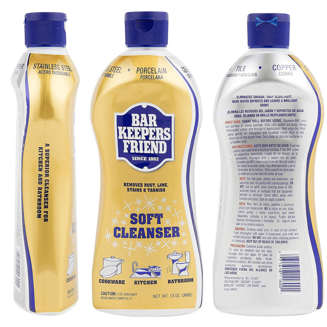 Bar Keepers Friend | DeLoreanDirectory.com