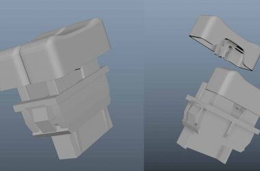 Brandon Fayette's 3D Model DeLorean Parts | DeLoreanDirectory.com