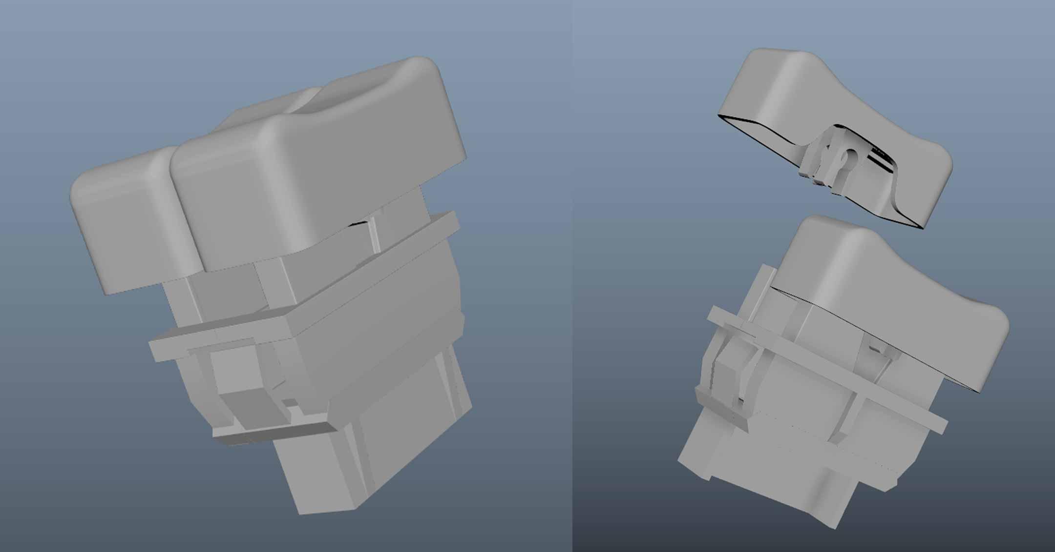 Brandon Fayette's 3D Model DeLorean Parts | DeLoreanDirectory.com