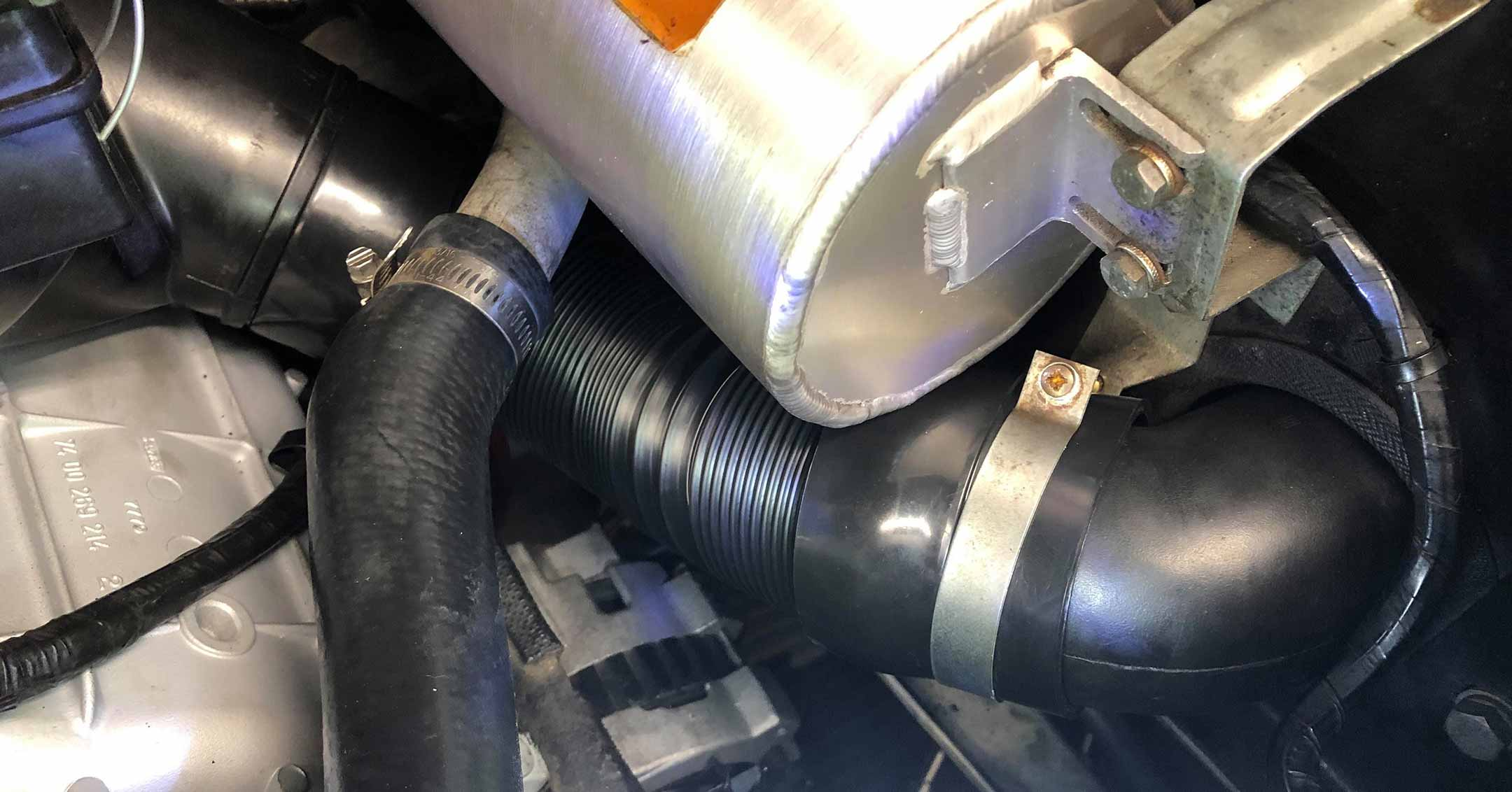 Cold Air Intake Update | DeLoreanDirectory.com