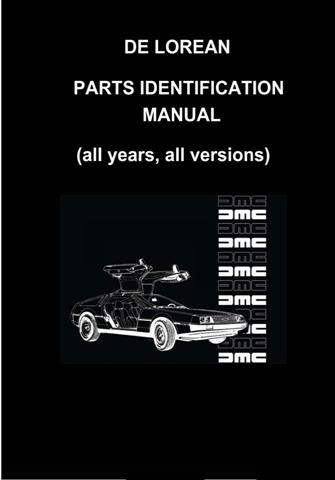 De Lorean Parts Identification Manual