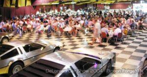 DeLorean Car Show 2004 - Pigeon Forge, TN | DeLoreanDirectory.com