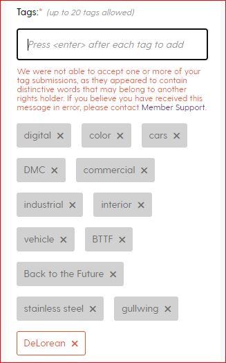Society6 DeLorean Fail | DeLoreanDirectory.com