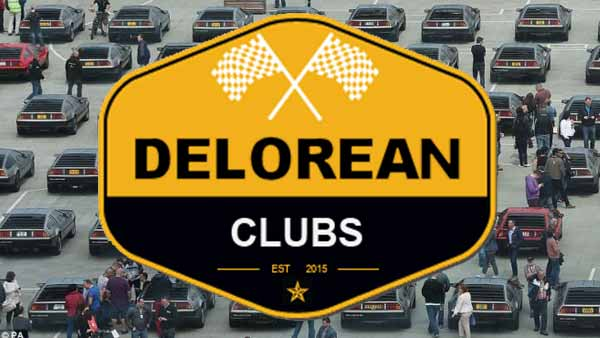 DeLorean Clubs and Organizations