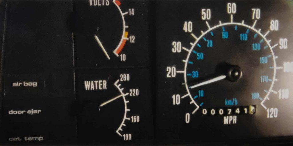 The Exchange of One - Gauges 2 | DeLoreanDirectory.com
