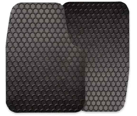 Hexomat floor mats   DeLoreanDirectory.com