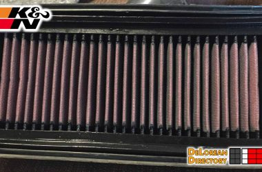 Air Filter Update | DeLoreanDirectory.com