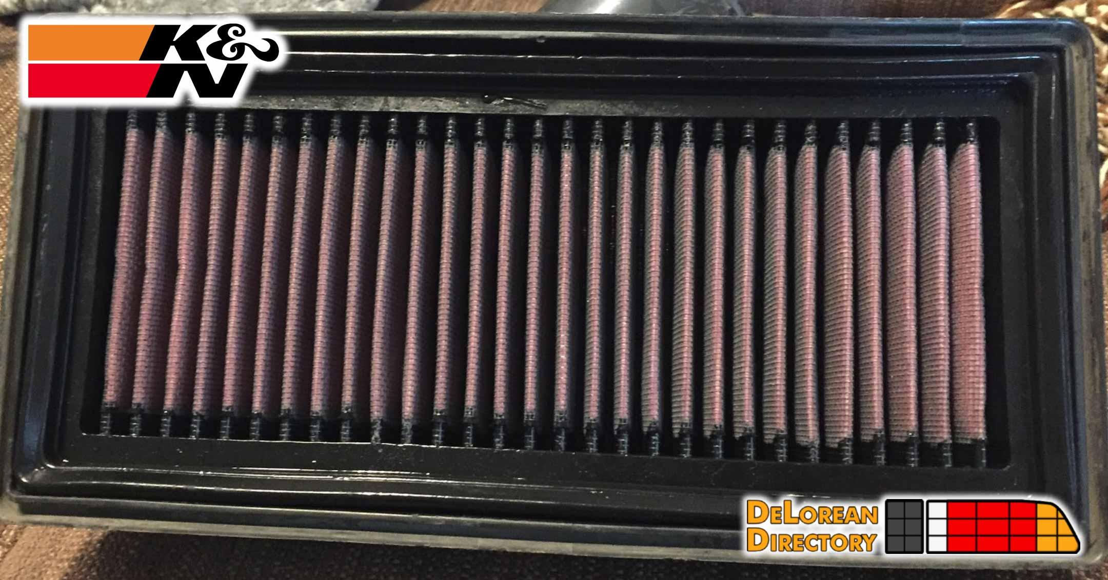 Air Filter Update | DeLoreanDirectory.com
