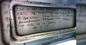 The last gullwing door built in Ireland | DeLoreanDirectory.com