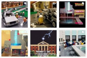 Lego Hill Valley 01 | DeLoreanDirectory.com