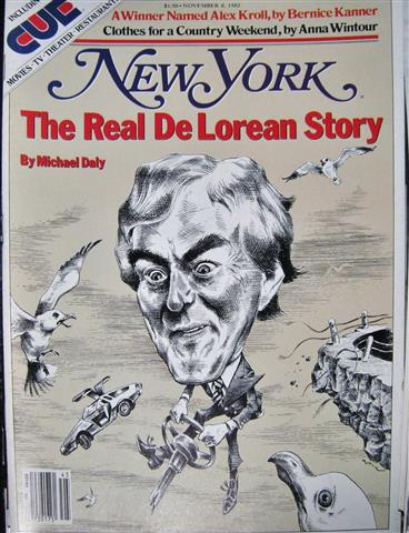 New York Magazine – John De Lorean…The Real Story – 1982