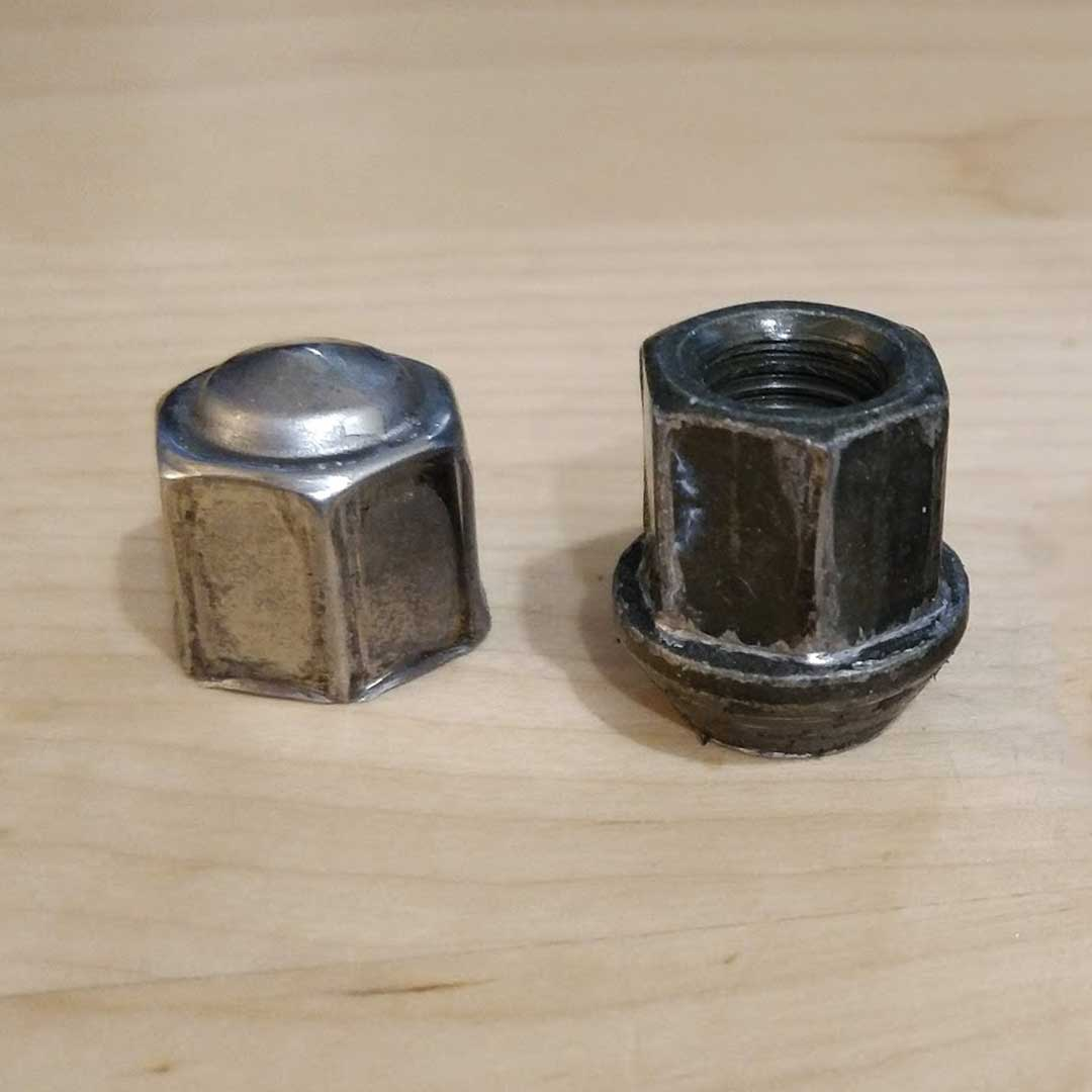OEM DeLorean Lug Nut | DeLoreanDirectory.com