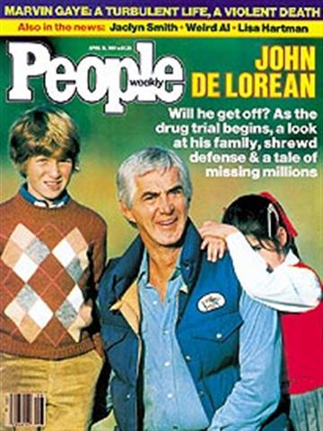 People Weekly – John DeLorean, Drug Trial, Missing Millions – April 16 , 1984
