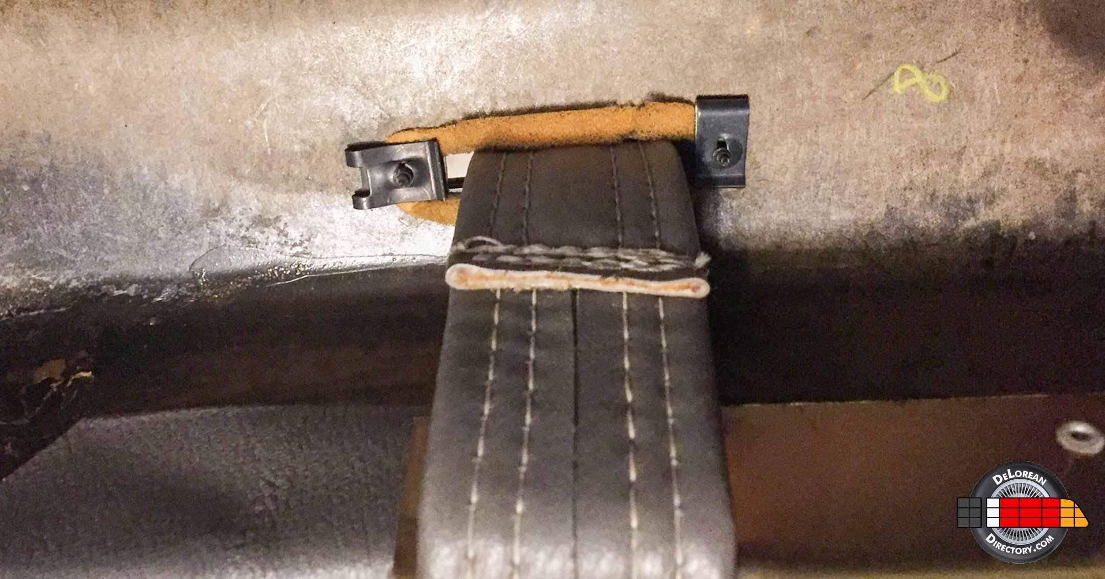 DeLorean Reference Photos: Pull Strap Bezel | DeLoreanDirectory.com