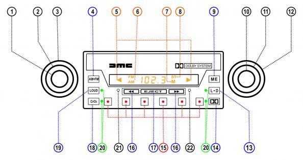 ASI Radio User Manual   DeLoreanDirectory.com