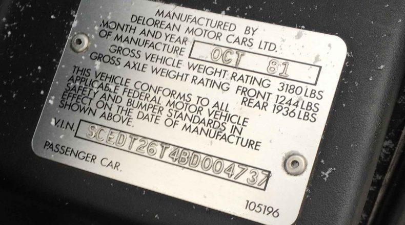 SCEDT26T4BD004737 | DeLoreanDirectory.com