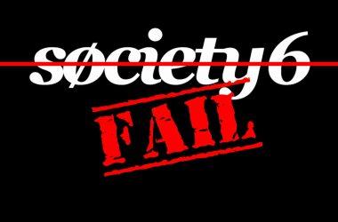 Society6 Fail | DeLoreanDirectory.com