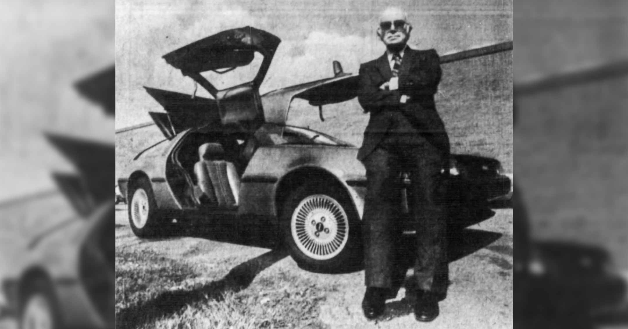 Sol Shenk with last DeLorean | DeLoreanDirectory.com