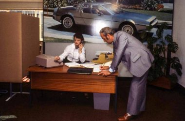 The DeLorean office in Coventry | DeLoreanDirectory.com