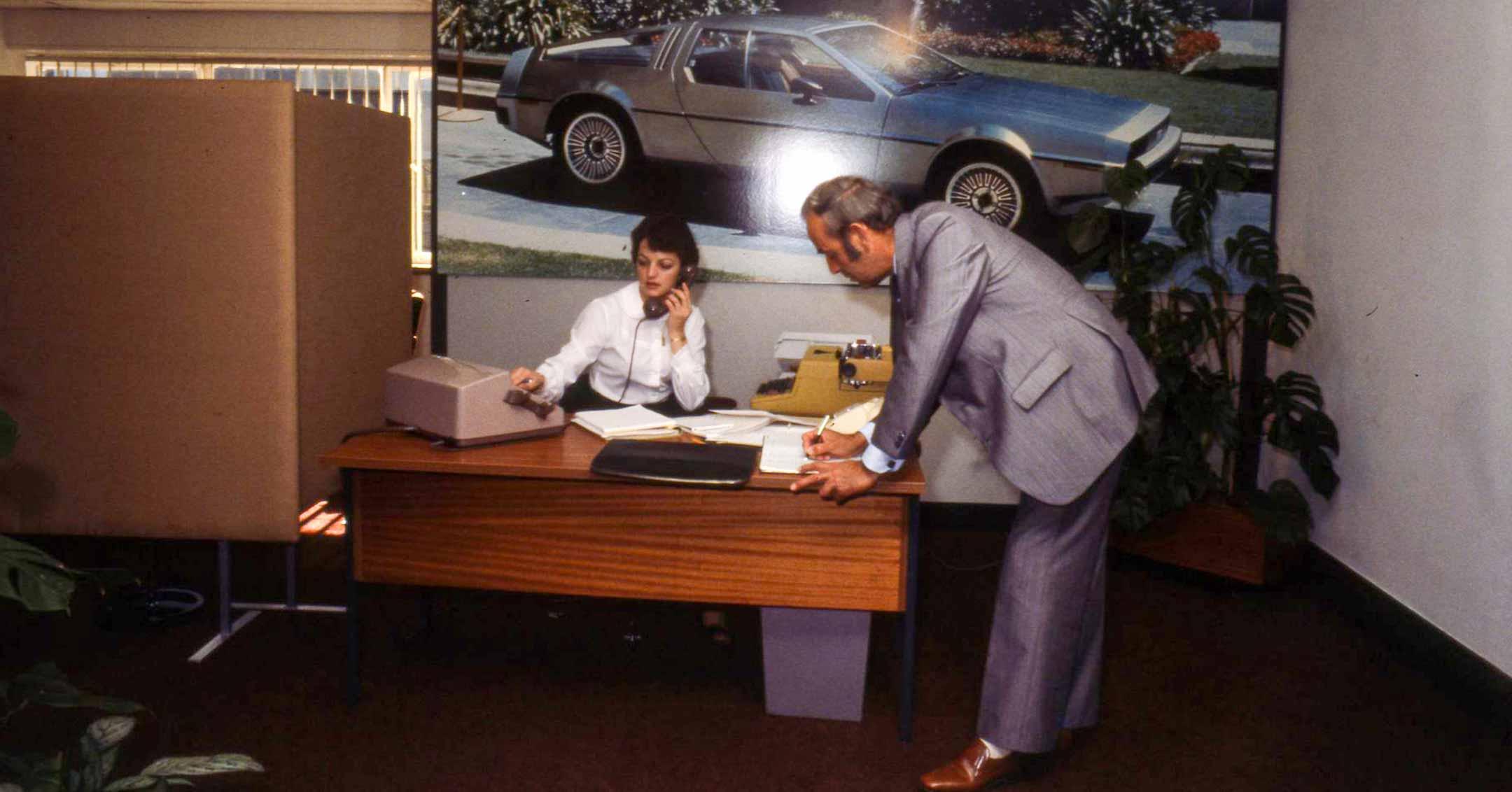 The DeLorean office in Coventry | DeLoreanDirectory.com