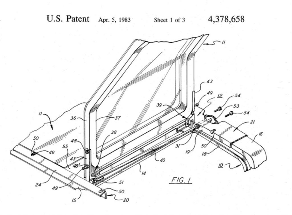 Torsion Bar Patent - US4378658-1 | DeLoreanDirectory.com