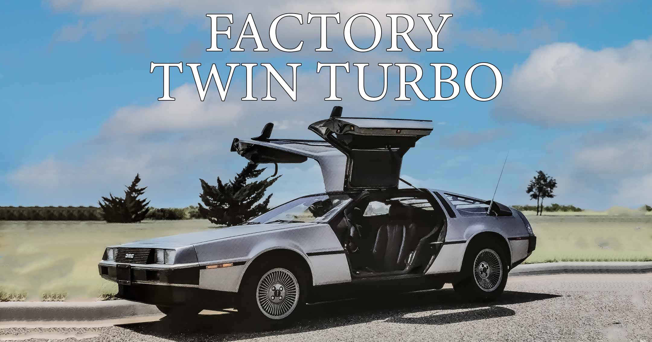 What Could Have Been #00502 - Factory Twin Turbo | DeLoreanDirectory.com