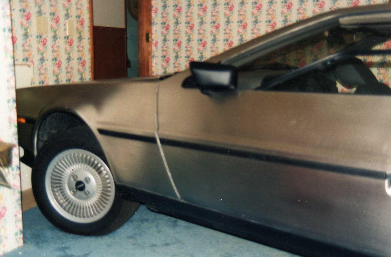 The DeLorean in the bedroom | DeLoreanDirectory.com