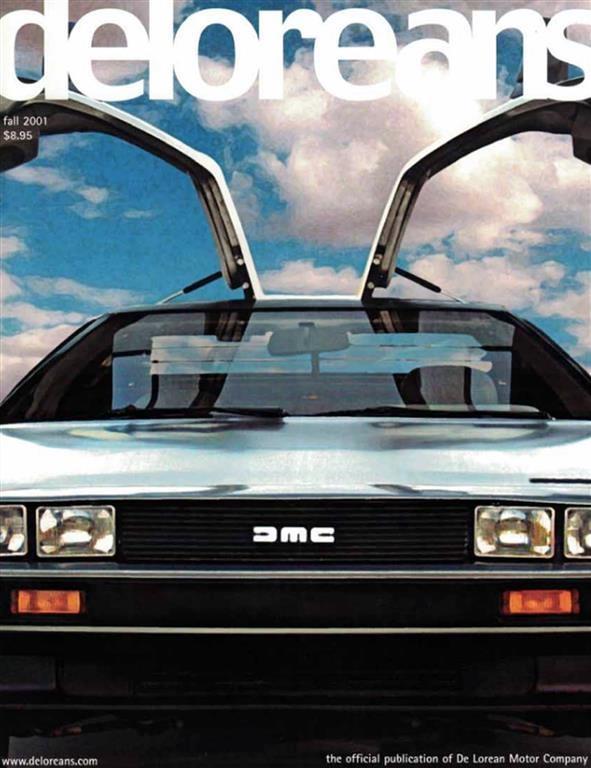 DeLorean magazines | DeLorean Directory